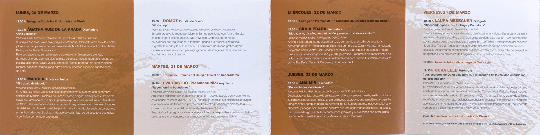 12 Jornadas de Diseño en la Escuela de Diseño de la Rioja