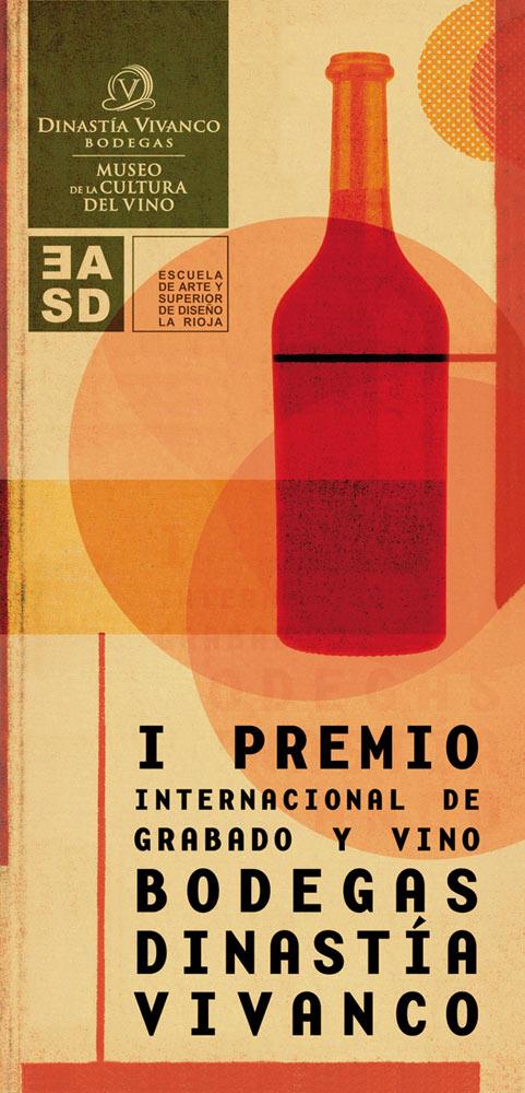 Palmarés del I Premio Internacional de Grabado y Vino Bodegas Dinastía Vivanco. 2008
