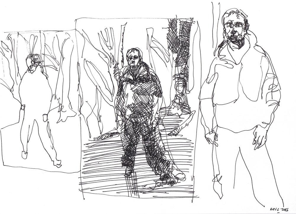 Dibujos. Eduardo Alvarado. Ciclo SALAPEQUEÑA.