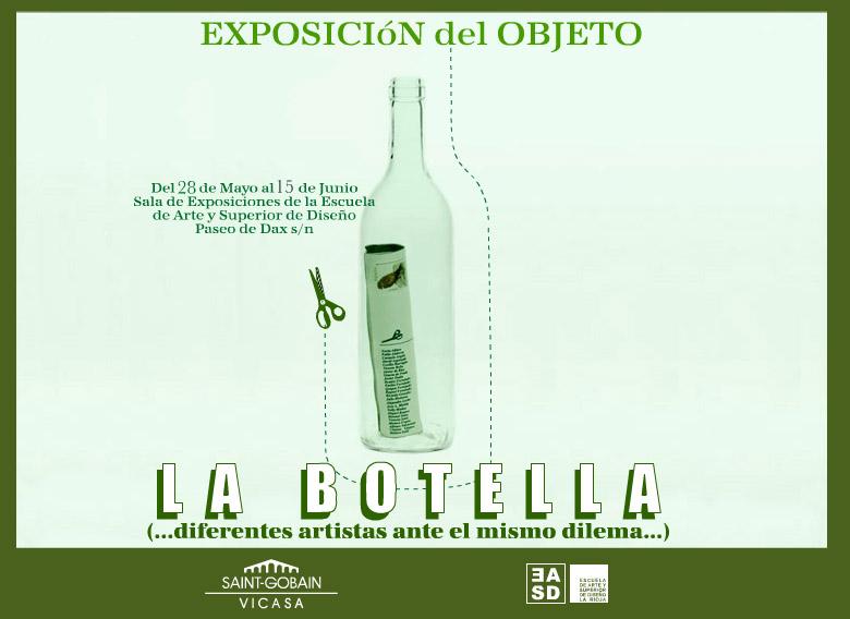 Fotografías de la II Exposición del objeto. La Botella. 2008