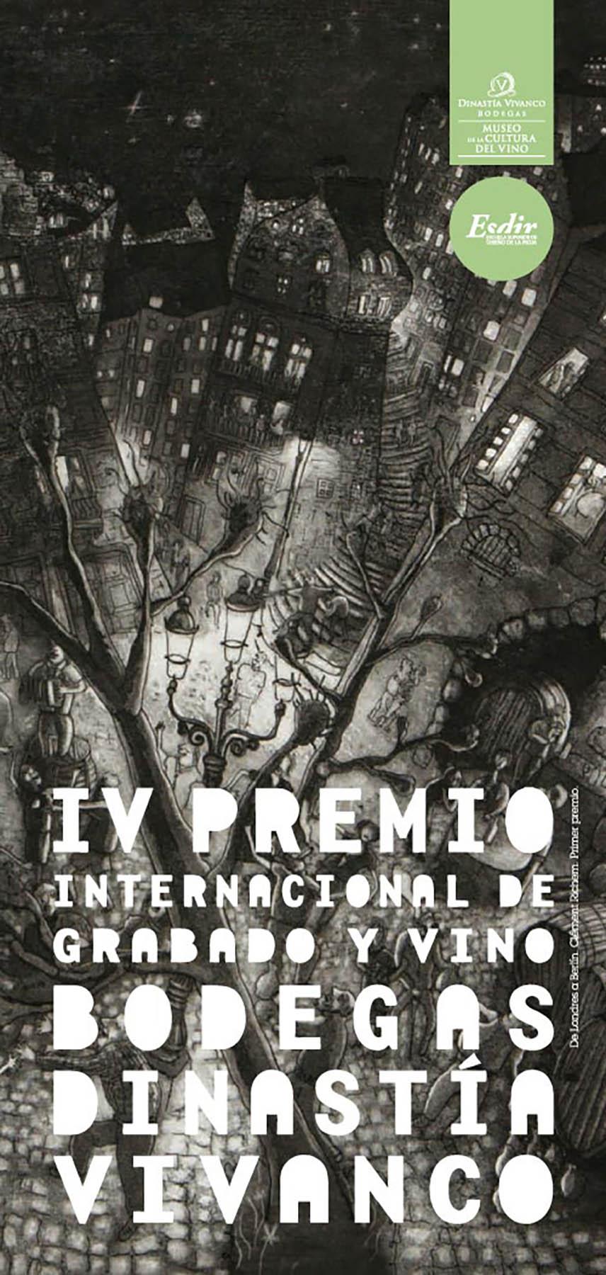 Entrega de premios e inauguración de la exposición del IV Premio de Grabado y Vino Dinastía Vivanco