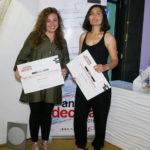 Ilazki Aguirrezábal y Lucía Fernández, alumnas de diseño de interiores de la ESDIR finalistas en el Concurso Antalia.