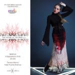 Violeta Arellano en la VIII Edición de Premios Nacionales a la Moda