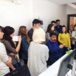 2º de Diseño Gráfico visita la empresa reprográfica Beeprint
