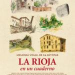 """Profesores de la Esdir en la exposición """"La Rioja en un Cuaderno"""""""