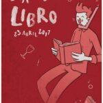 Jon Osés ganador del primer premio para el cartel y etiqueta del día del libro