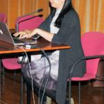 Chen, profesora de la School of Art and Design, Guangdong University of Technology en China, visita la Esdir