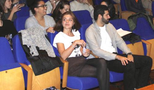 Unai Navarro, ganador del premio Discalsa