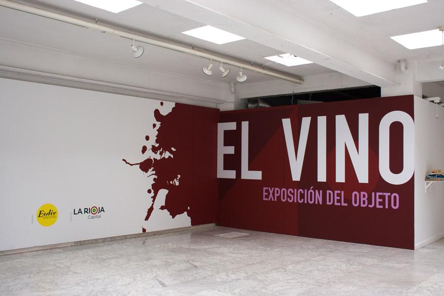 Fotografías de la V Exposición del Objeto: El Vino (2011)