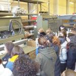 Visita de Moda a la la industria alpargatera de Cervera del Rio Alhama