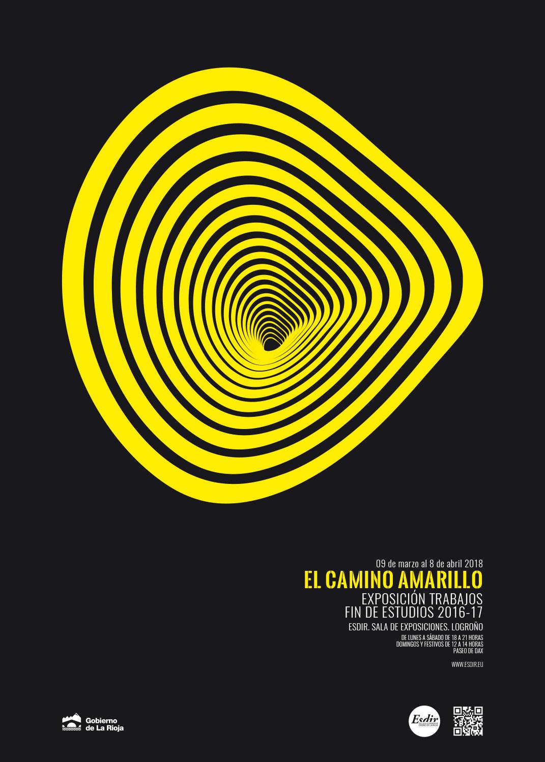 El Camino Amarillo. Exposición de los TFE 16-17