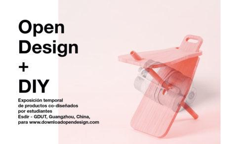 We're open. Producto expone OpenDesign en el Museo de La Rioja.