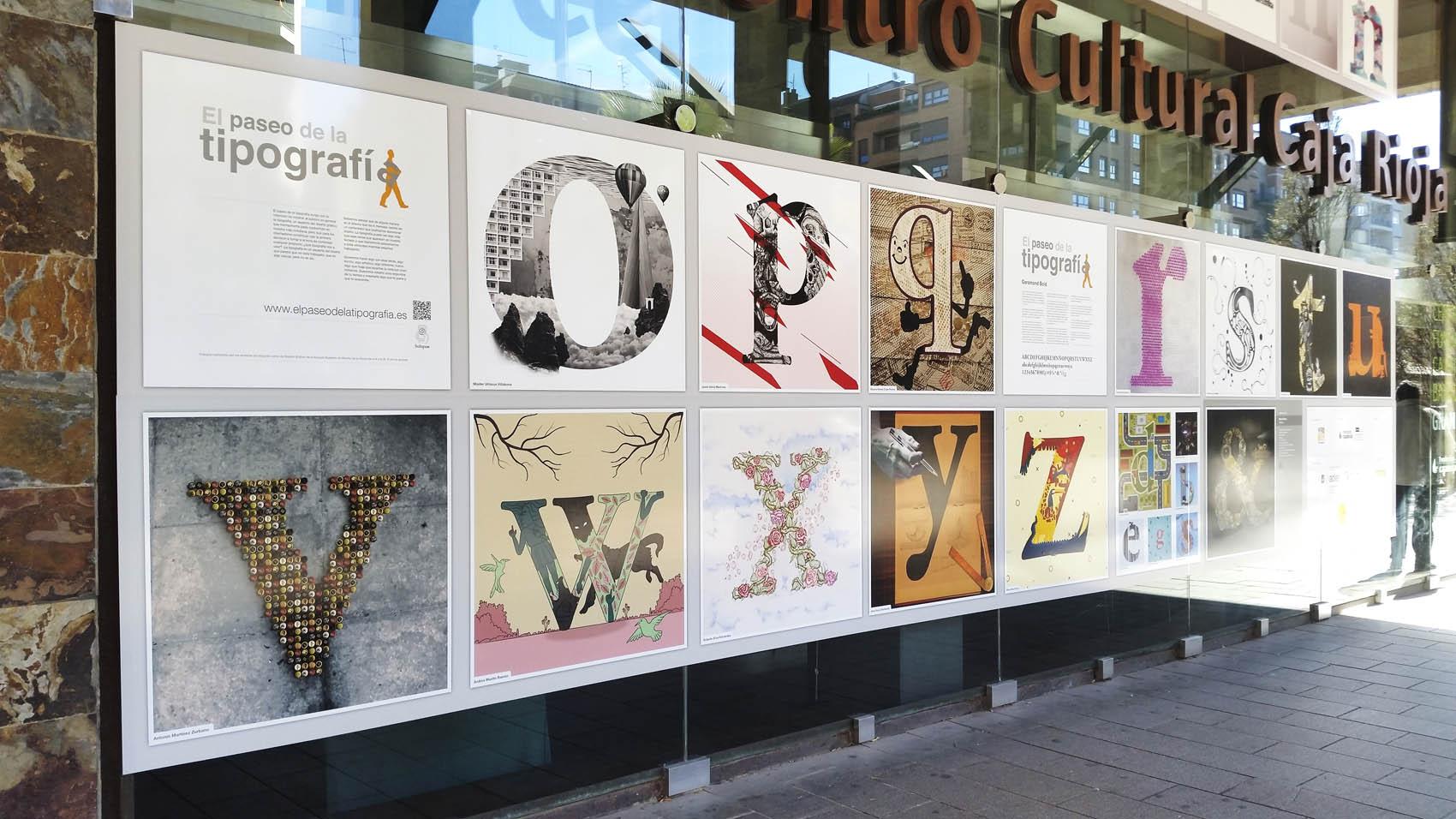 Paseo de la Tipografía. Garamond. Edición 2018