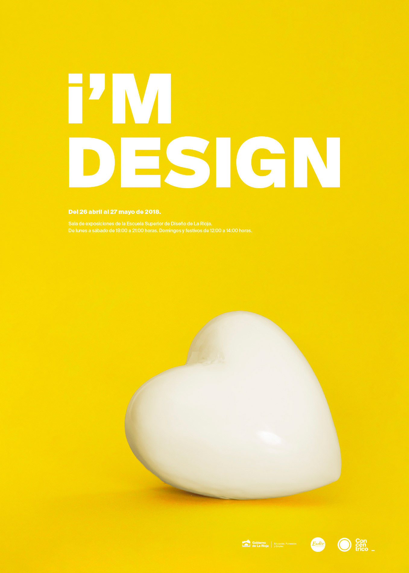 Exposición I'm Design