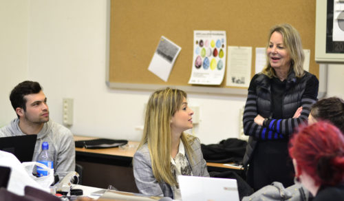 Project Week 8: Paula Scher en la ESDIR. Crónica y fotos