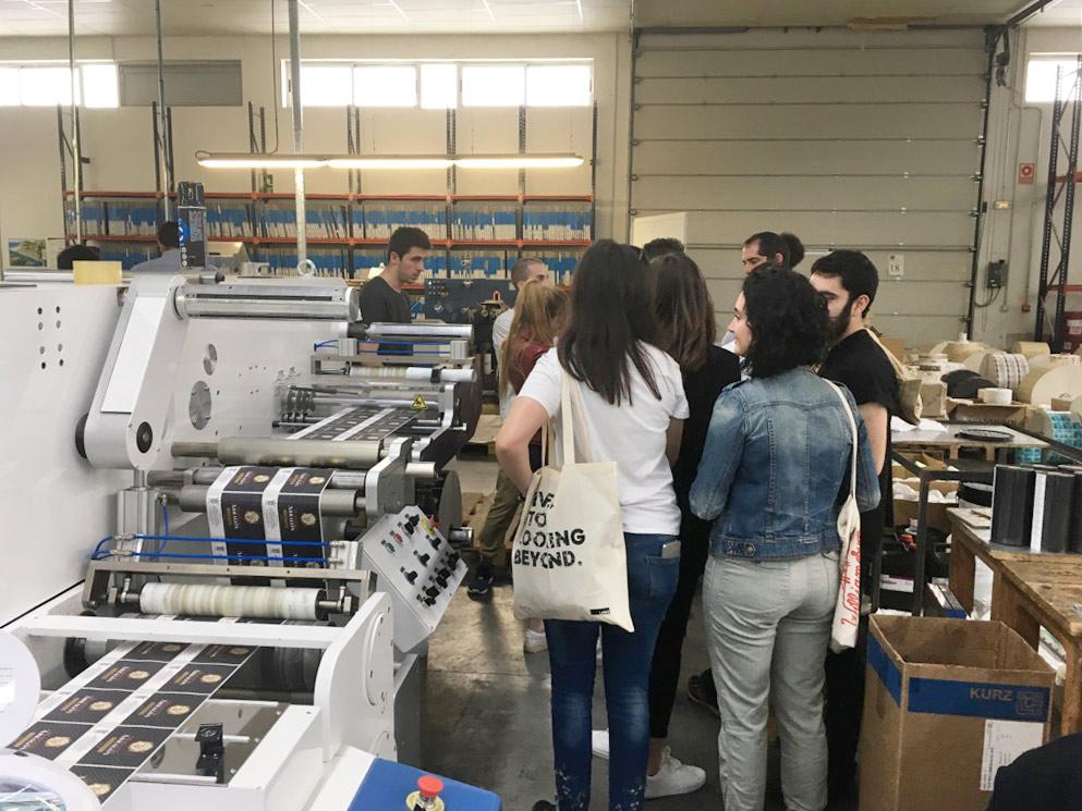 3º de Producto visita la imprenta Grupo Argraf