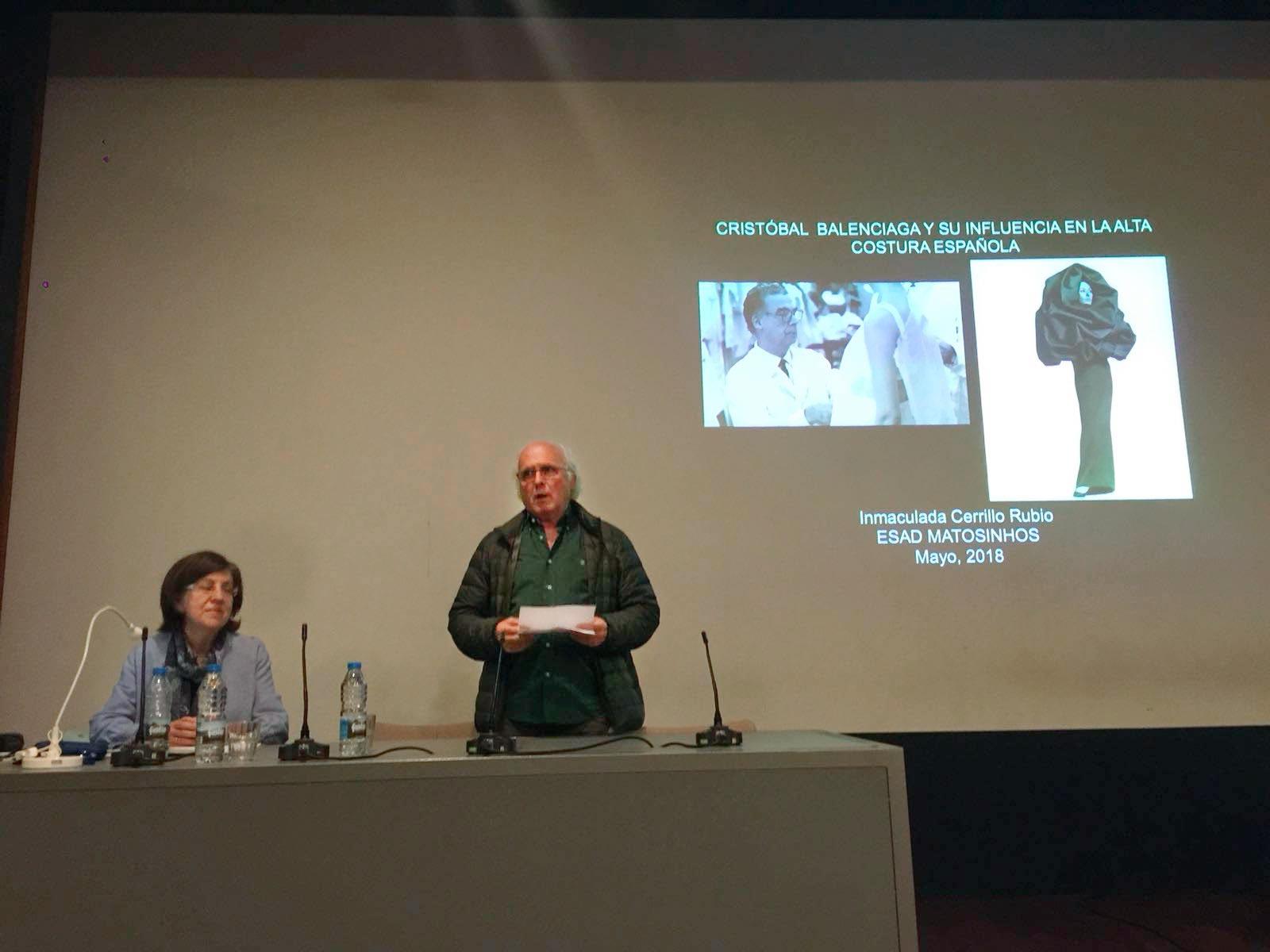 """Encuentro en la ESAD: """"Cristóbal Balenciaga y su influencia..."""""""
