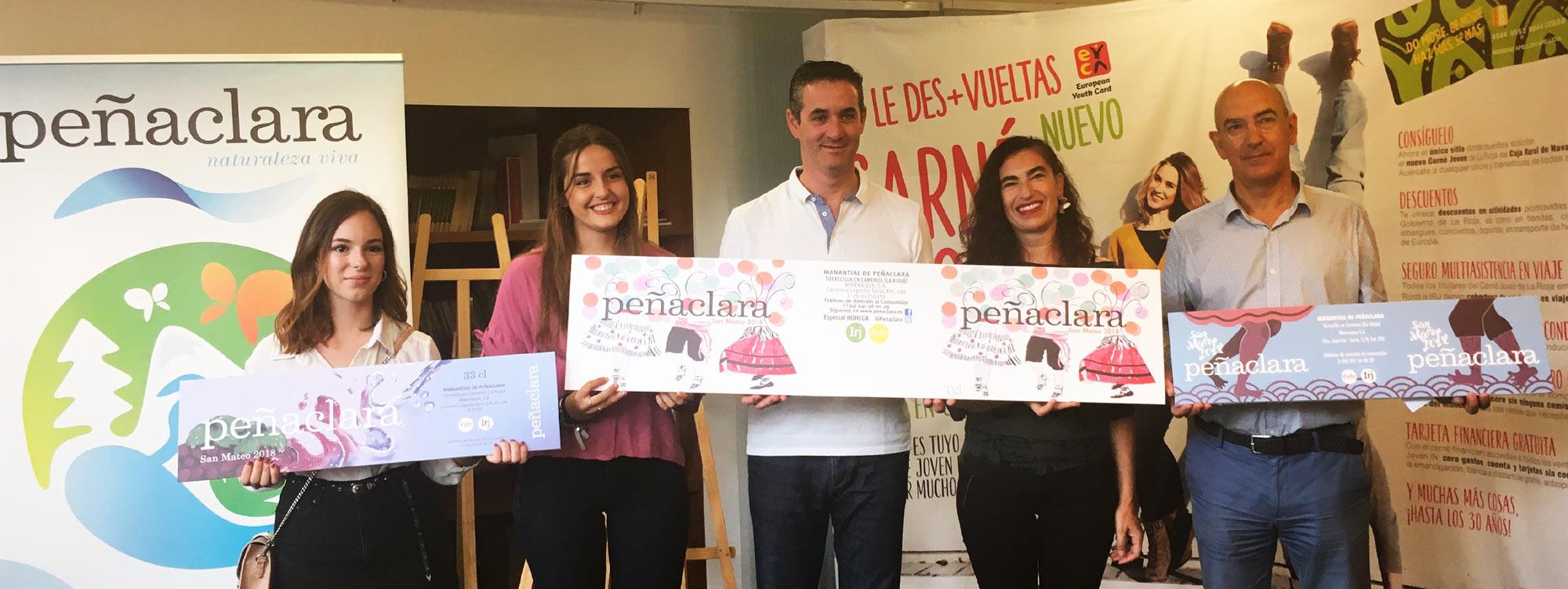 Las alumnas María Mas y Soraya Manso premiadas en el X Concurso de Diseño de Etiquetas de Peñaclara