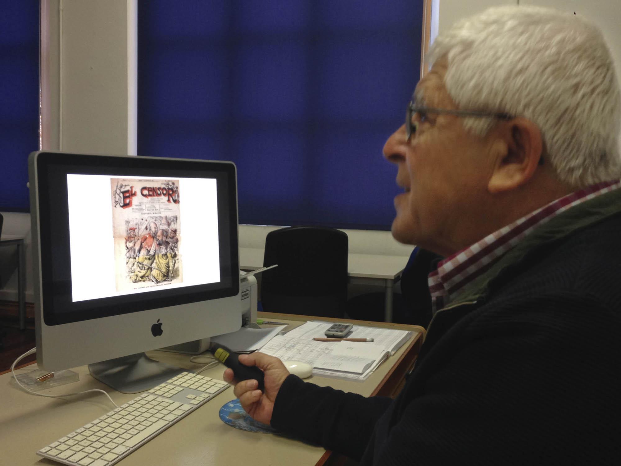 Charla de Fernando Rodil para Narrativa Gráfica