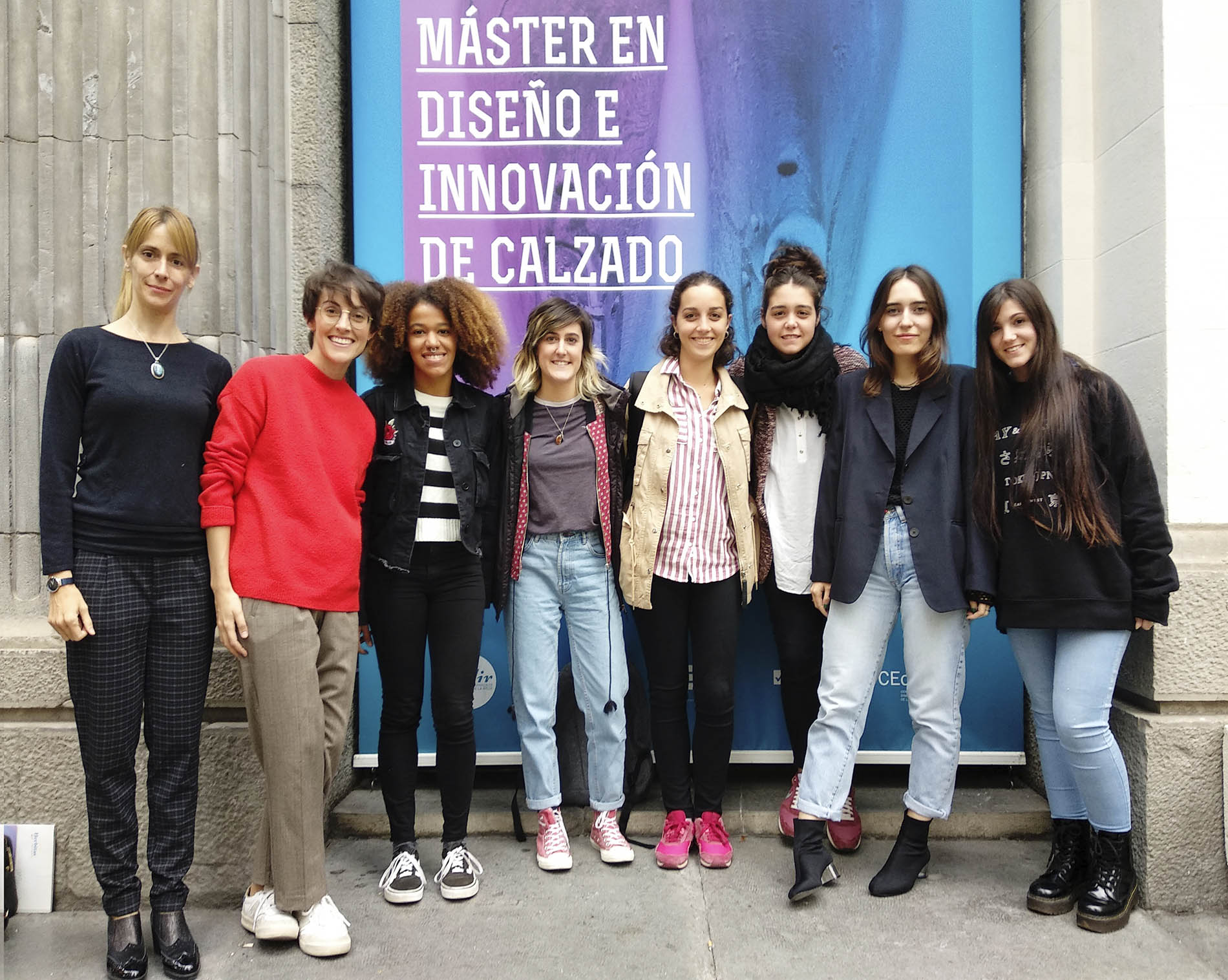 Visita al CMPIES del Máster de Diseño e Innovación del Calzado