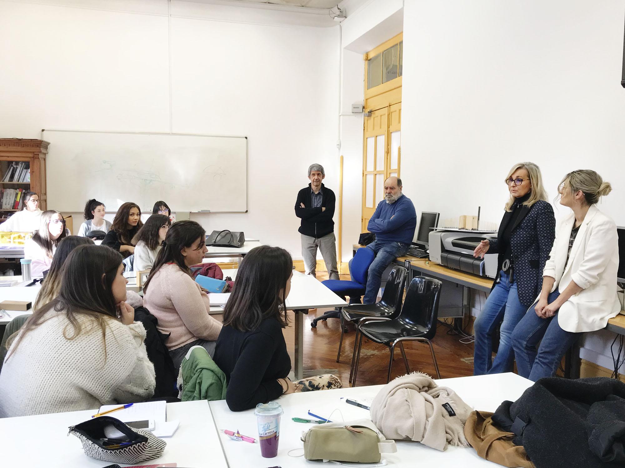 El Colegio Oficial de Diseñadores de Interior Decoradores de La Rioja en la Esdir