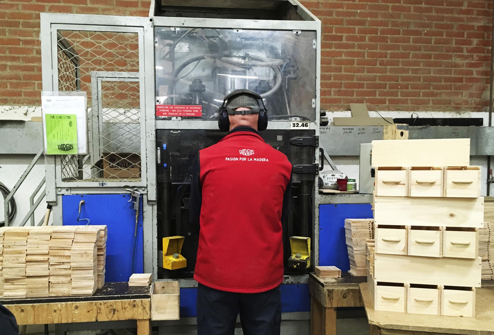 El Máster de Packaging en la fábrica Vargas Envases y Embalajes de Madera