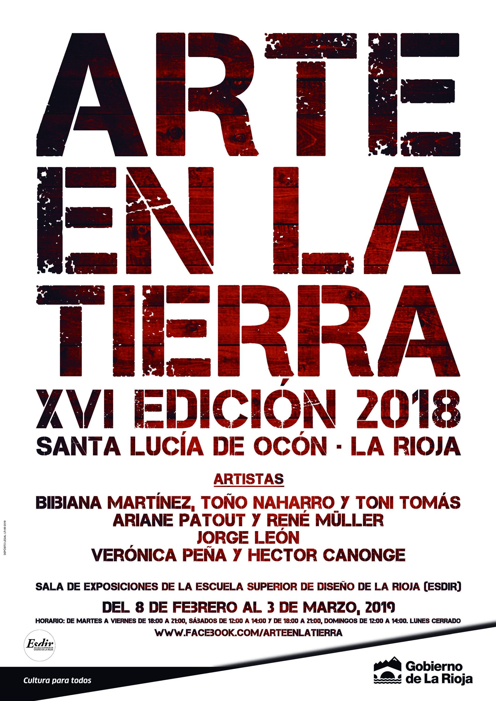Exposición de la XVI edición de Arte en la Tierra