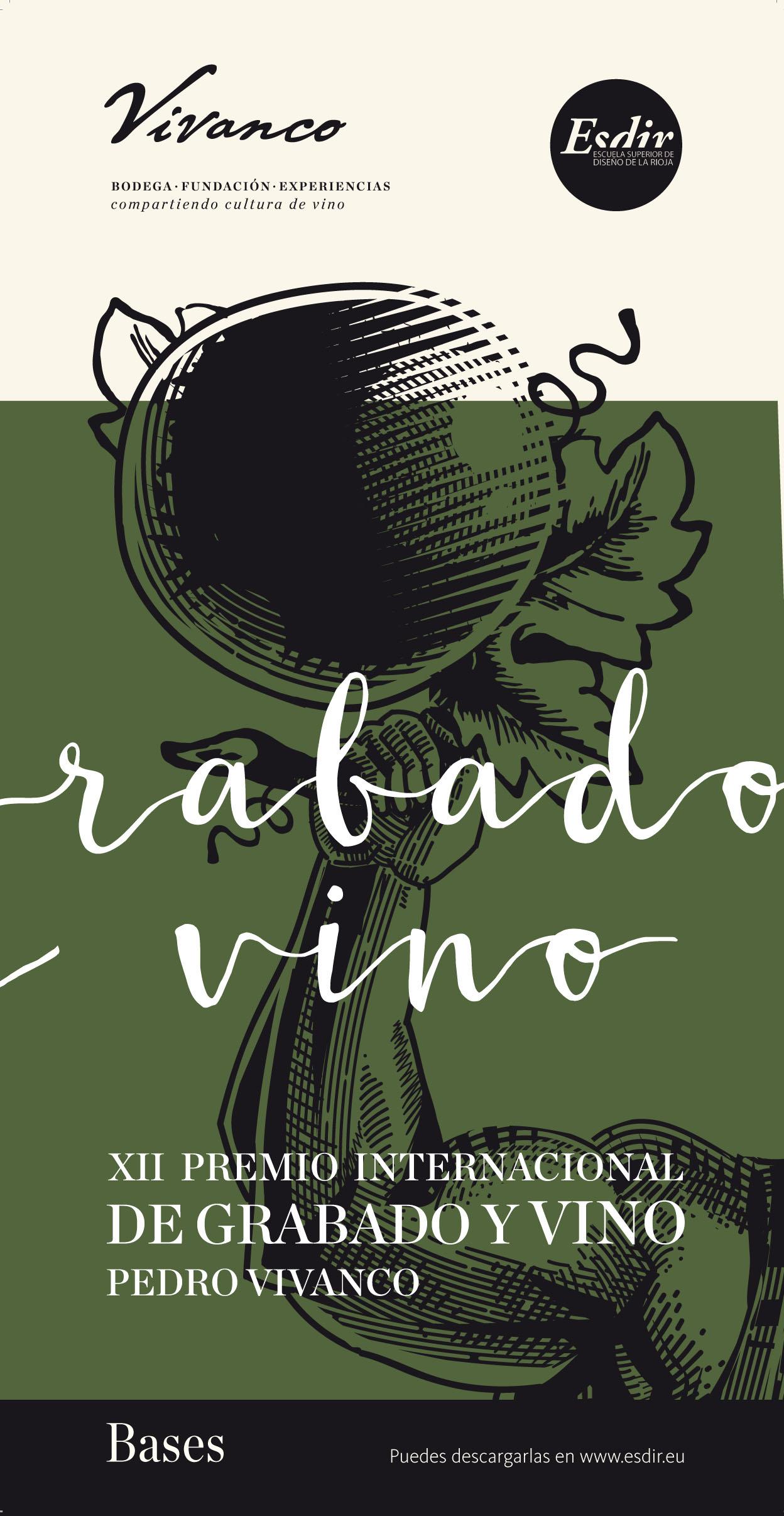 Bases del XII Premio de Grabado y Vino Pedro Vivanco