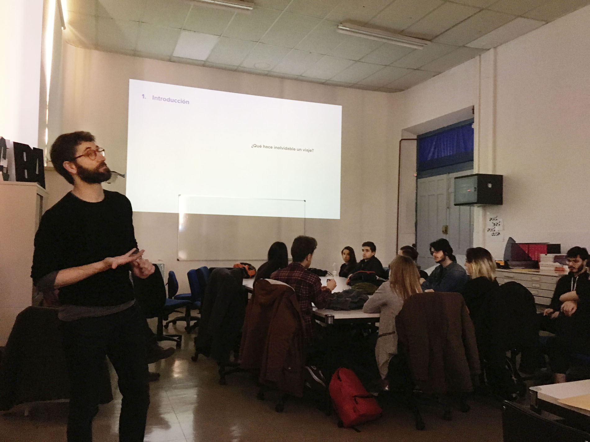 Conferencia y taller de Unit en la Esdir