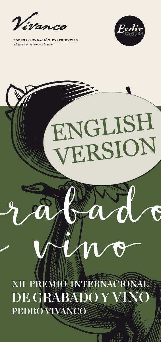 Rules XII Premio de grabado y vino Pedro Vivanco