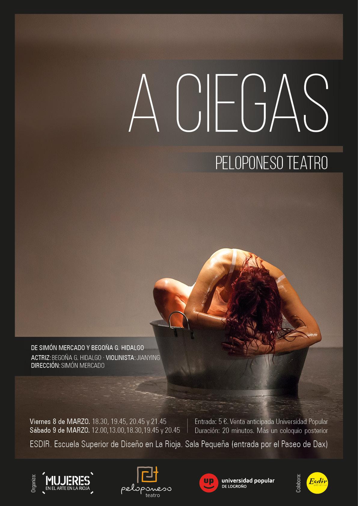 A Ciegas. Intervención Teatral en la Esdir. Mujeres en el Arte