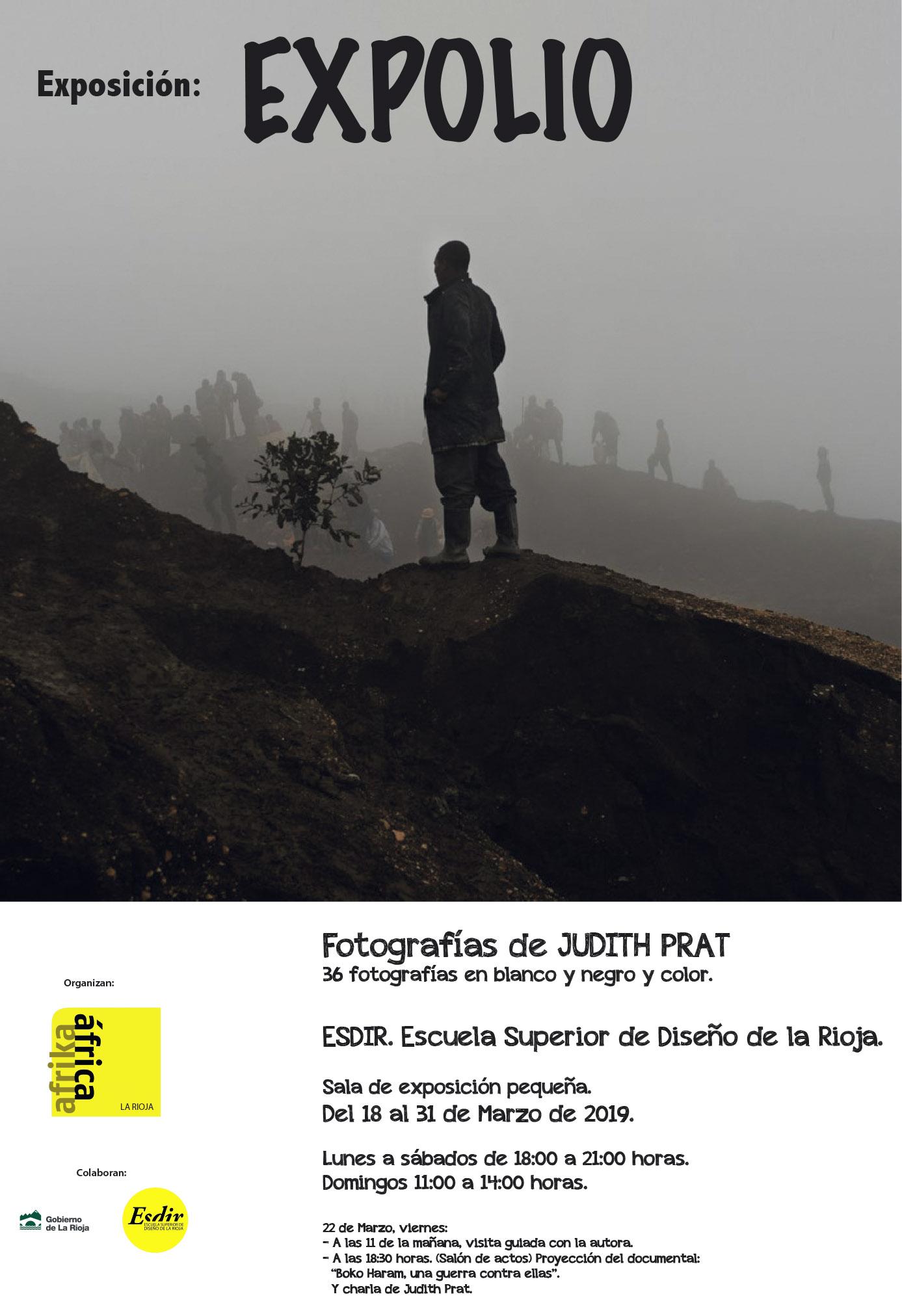 Exposición: Expolio. Fotografías de Judith Prat