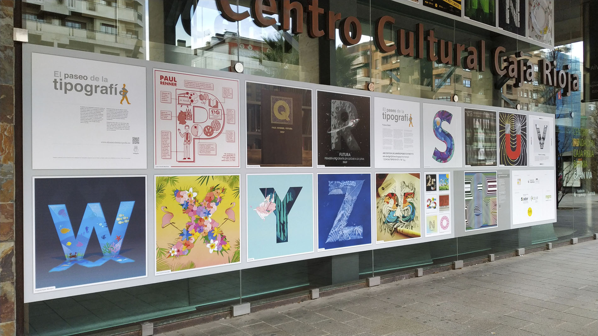 Paseo de la Tipografía. Futura. 2019