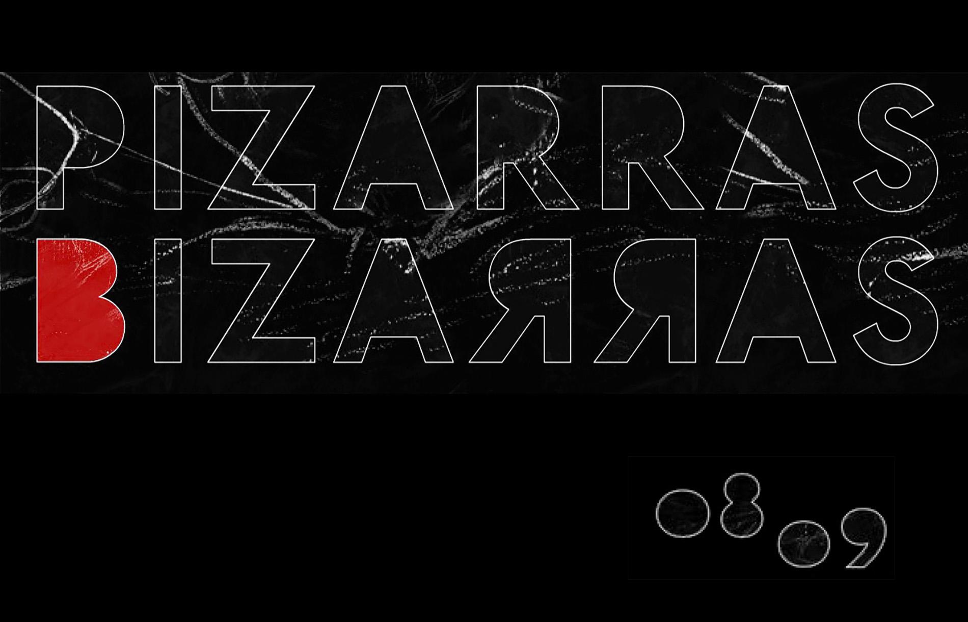 Pizarras Bizarras. 3ª Edición _ 2008-2009
