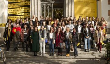 Acto Graduación e Inauguración Exposición Caja Amarilla