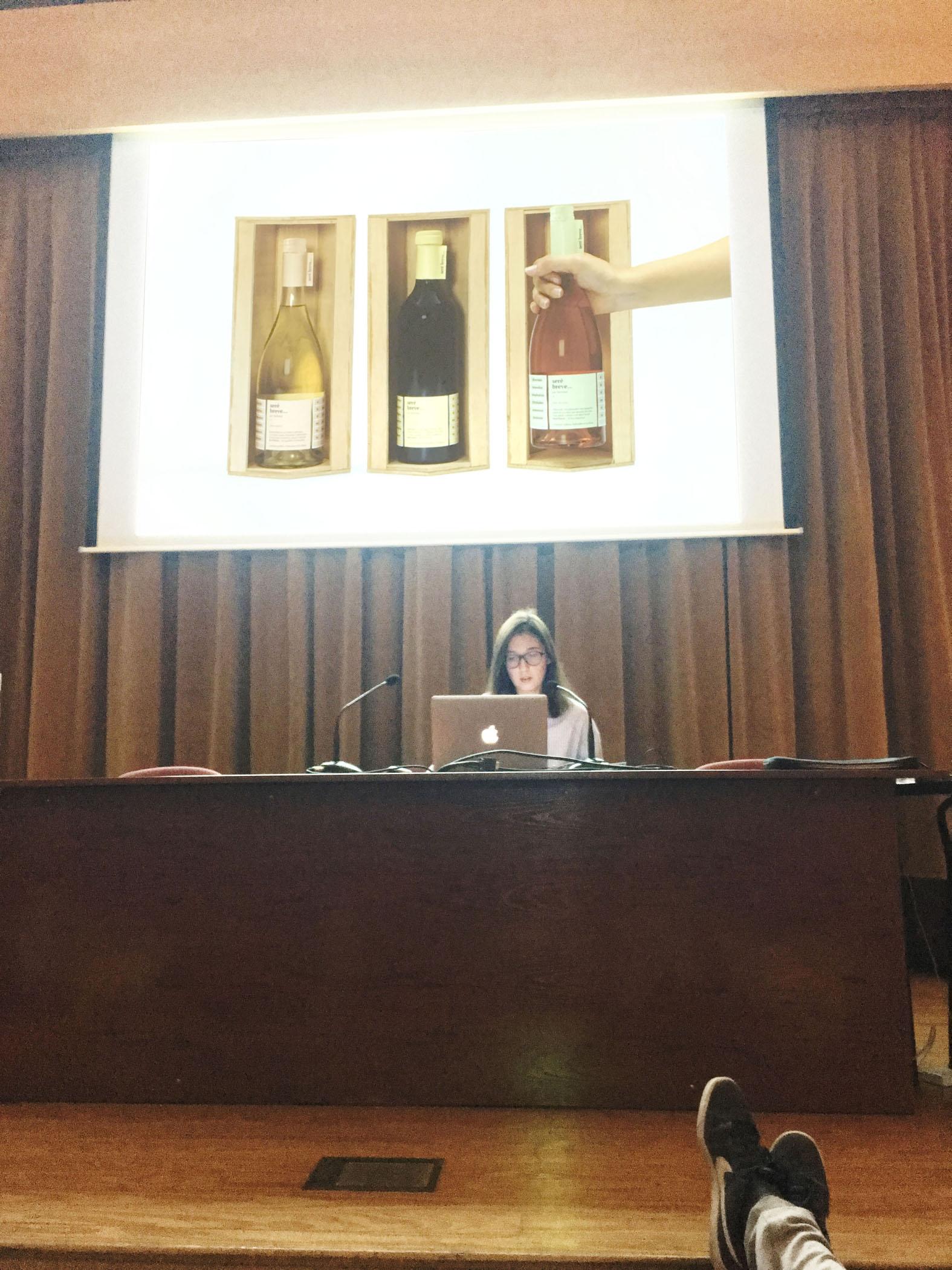 Presentación de los Trabajos de Vitivinícola para la UR