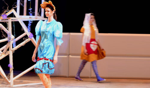 Cristina Loma de la Vega, alumna de Diseño de Moda, finalista del Moda Movie