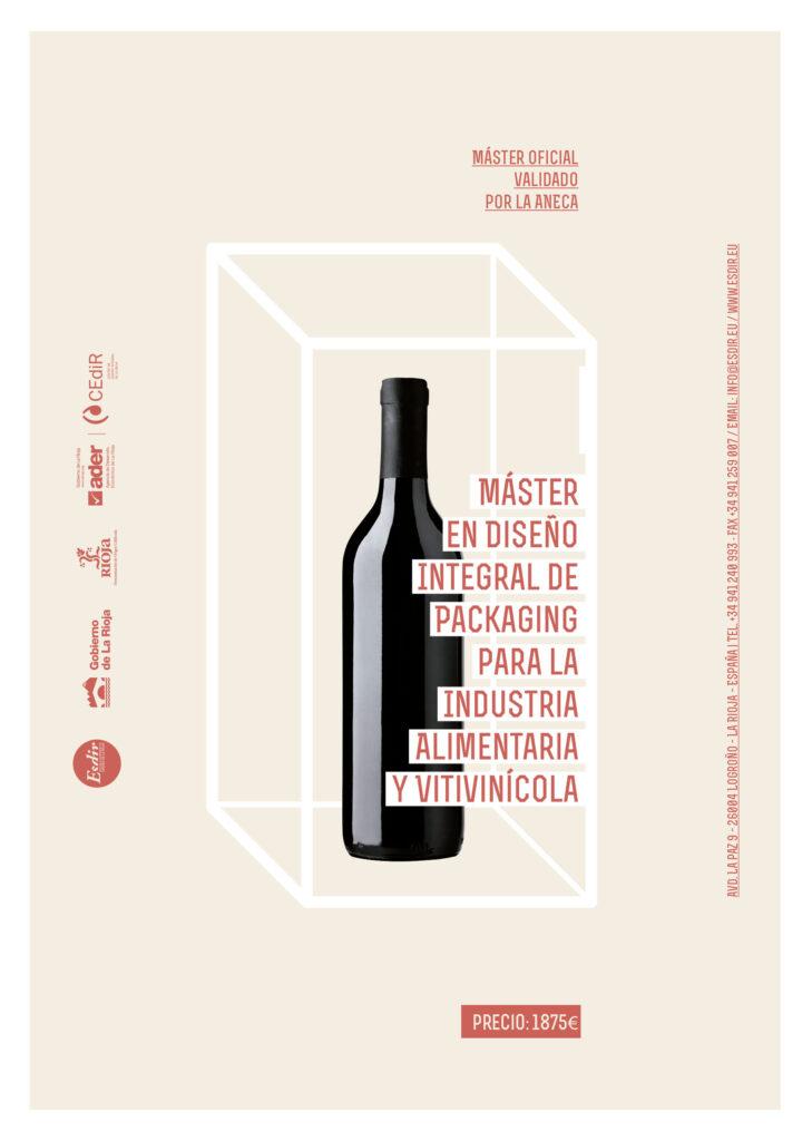 Máster en Diseño Integral de Packaging para la Industria Alimentaria y Vitivinícola