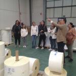 Visita del Máster de Packaging a Etilisa