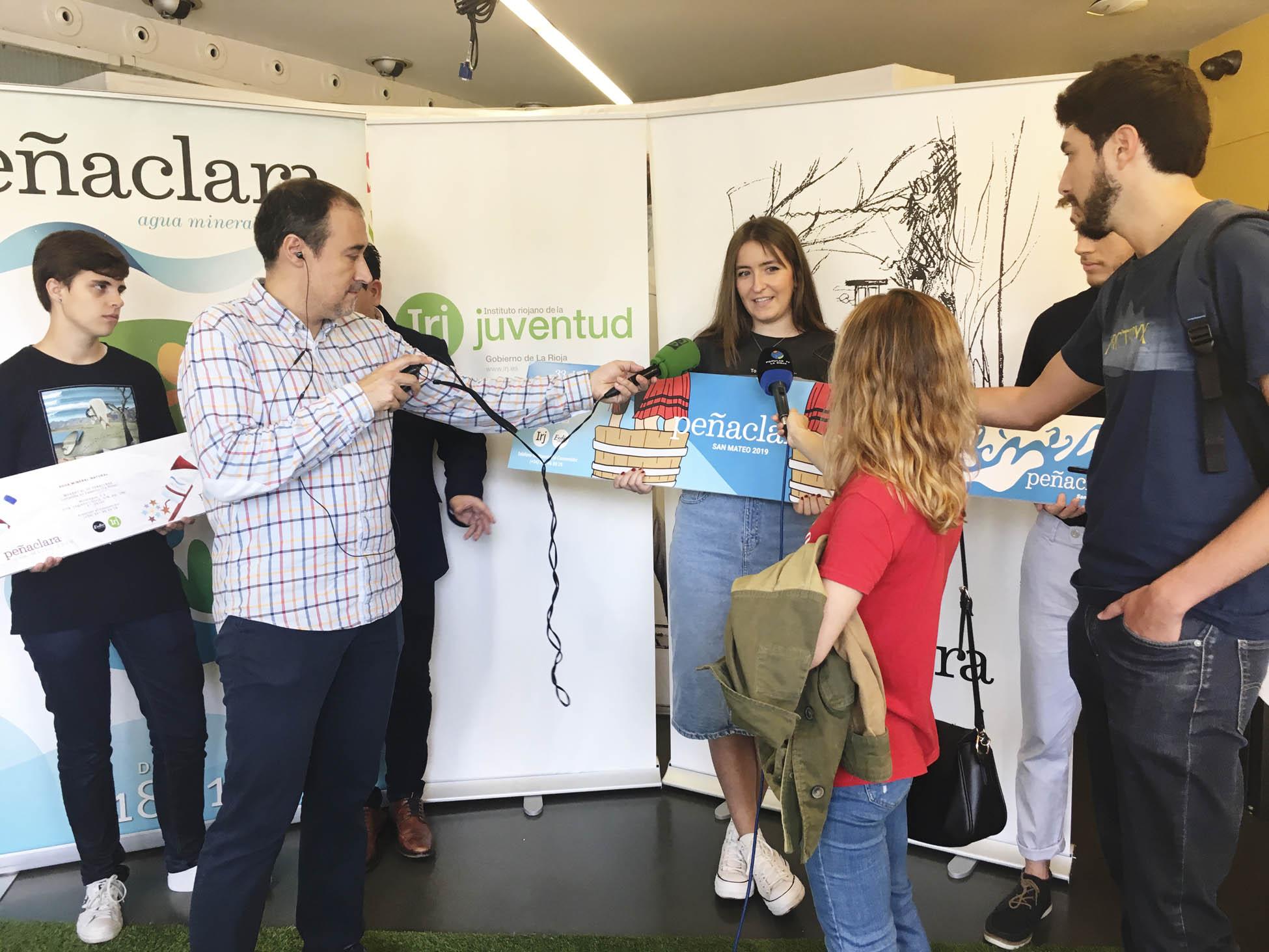 Tres alumnos de la Esdir premiados en el Concurso Peñaclara 2019