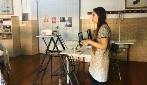 Marta Del Pozo, de Flat Comunicación, en el Máster de Packaging