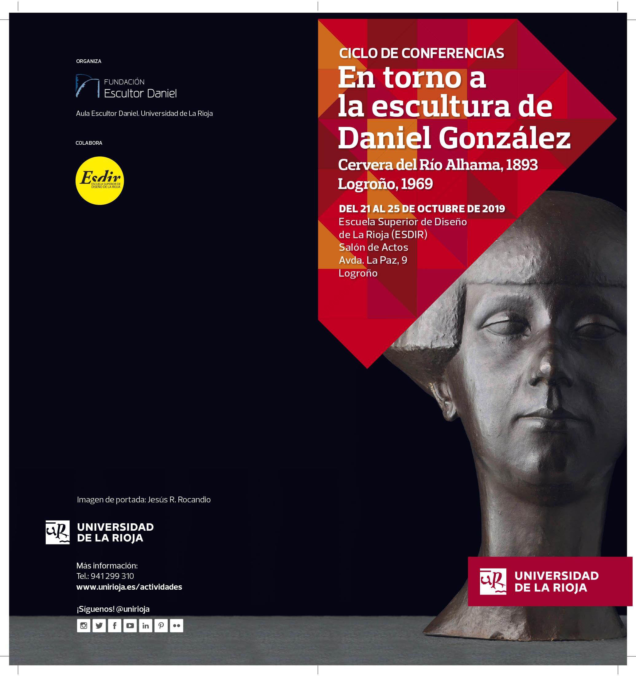 Ciclo de conferencias sobre el Escultor Daniel