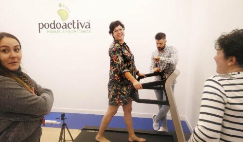 Visita del Máster de Calzado a la Clínica Podoactiva