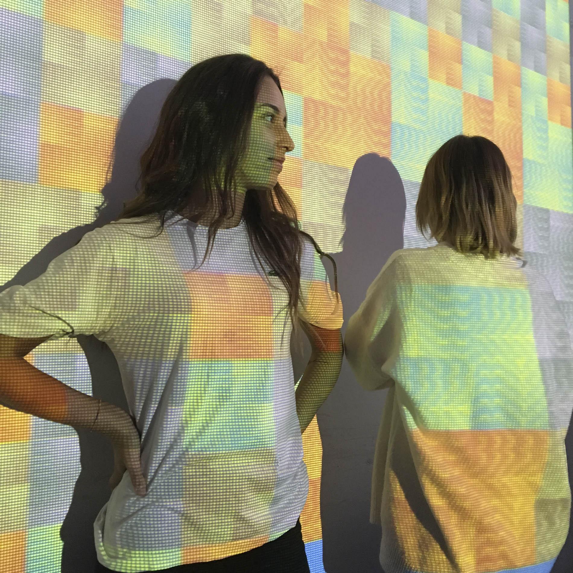 "Taller ""Color y textiles"" de la profesora Laura Reynés"