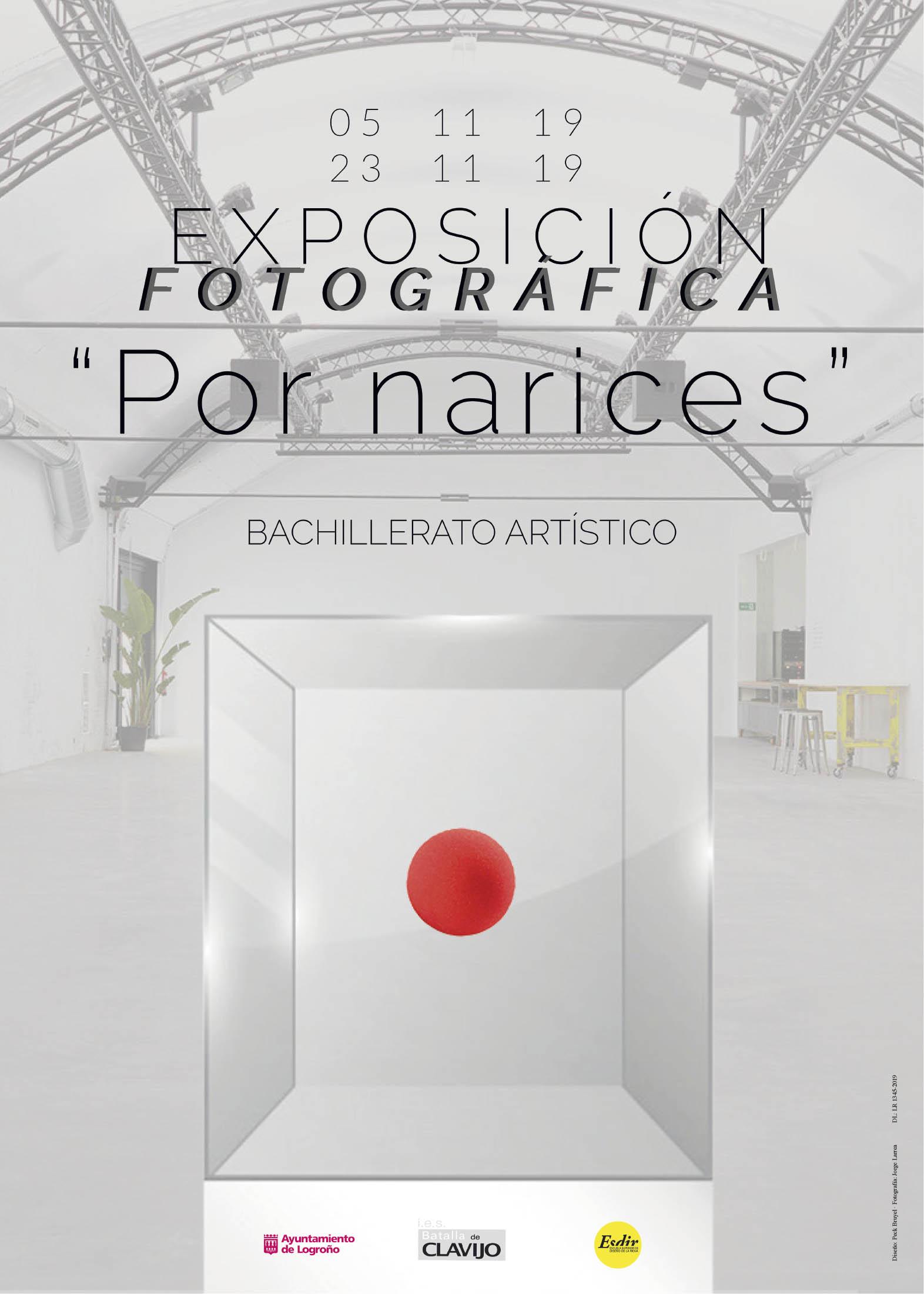 """""""Por Narices"""", exposición del IES Batalla de Clavijo  en Sala Pequeña"""