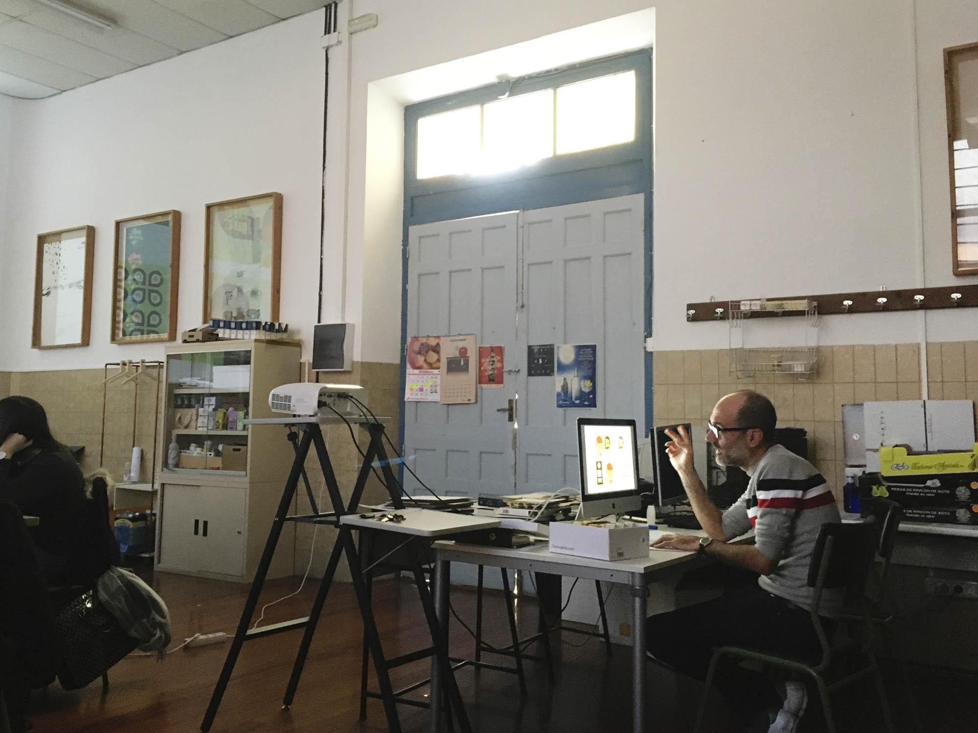 Eduardo Más, de Mesta Comunicación Gráfica, en el Máster de Packaging