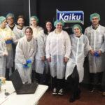 El Máster de Packaging visita la sede de Kaiku