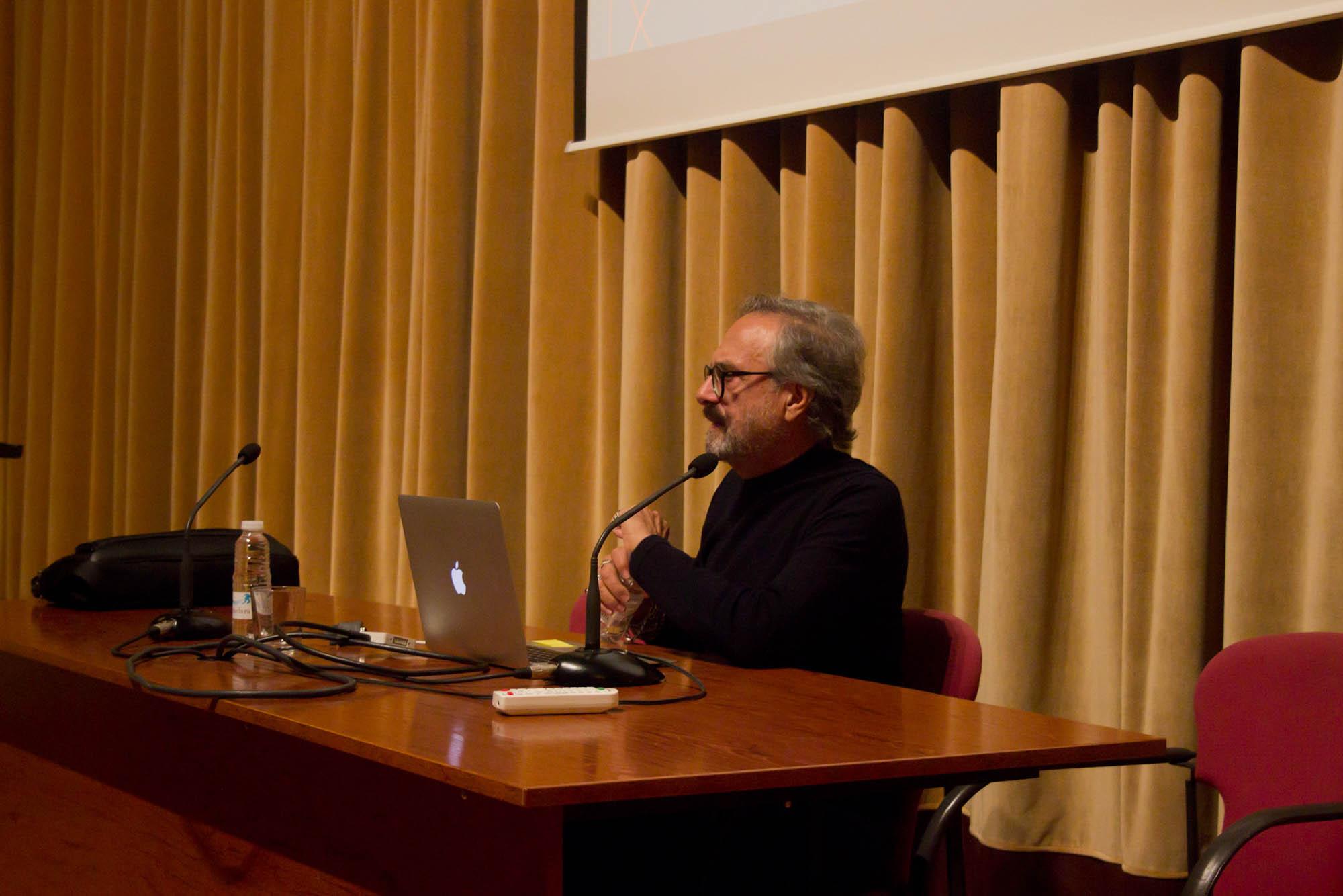Conferencia de Josep Maria Mir en la Esdir