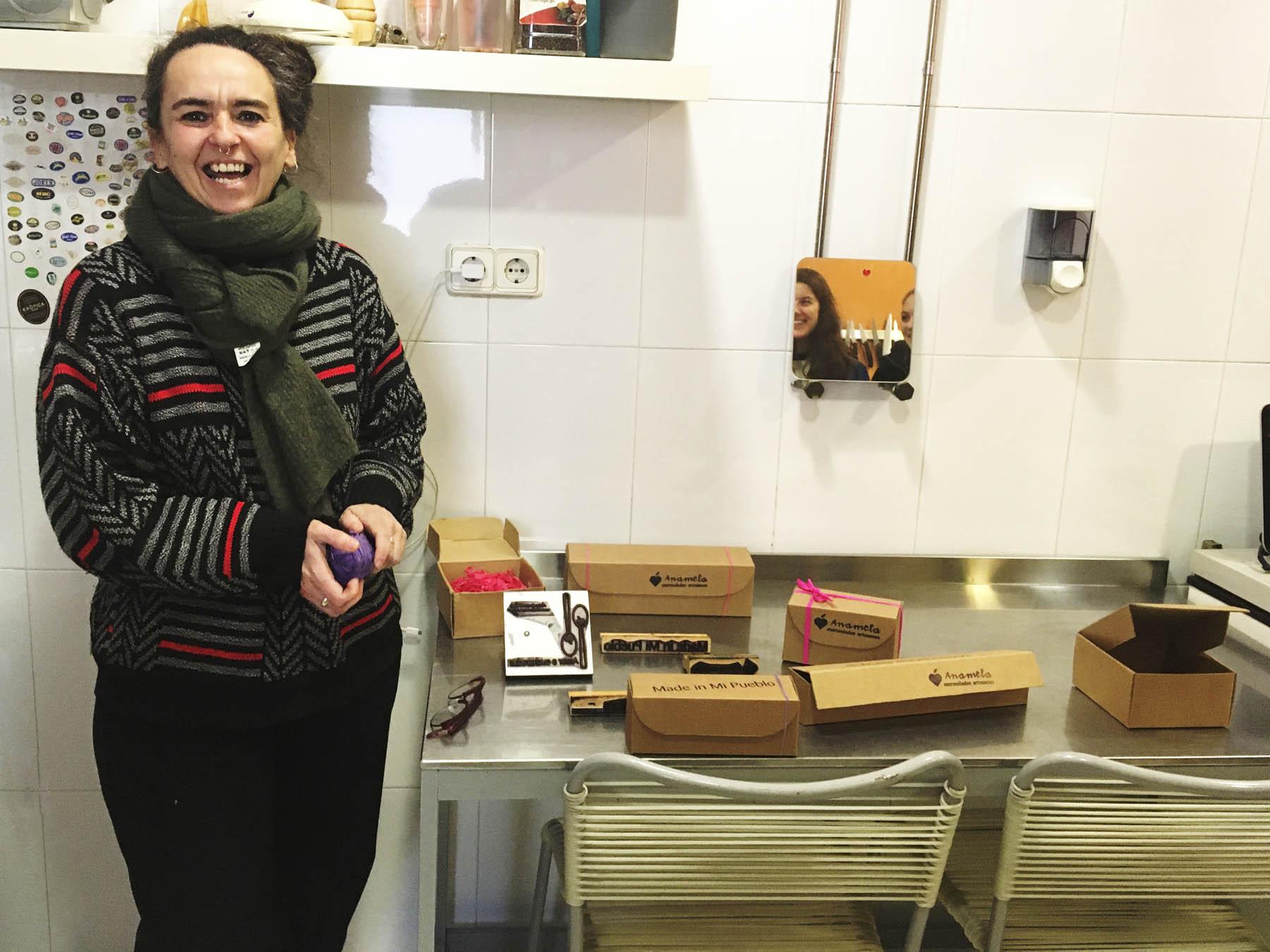 Visita del Máster de Packaging a Anamela