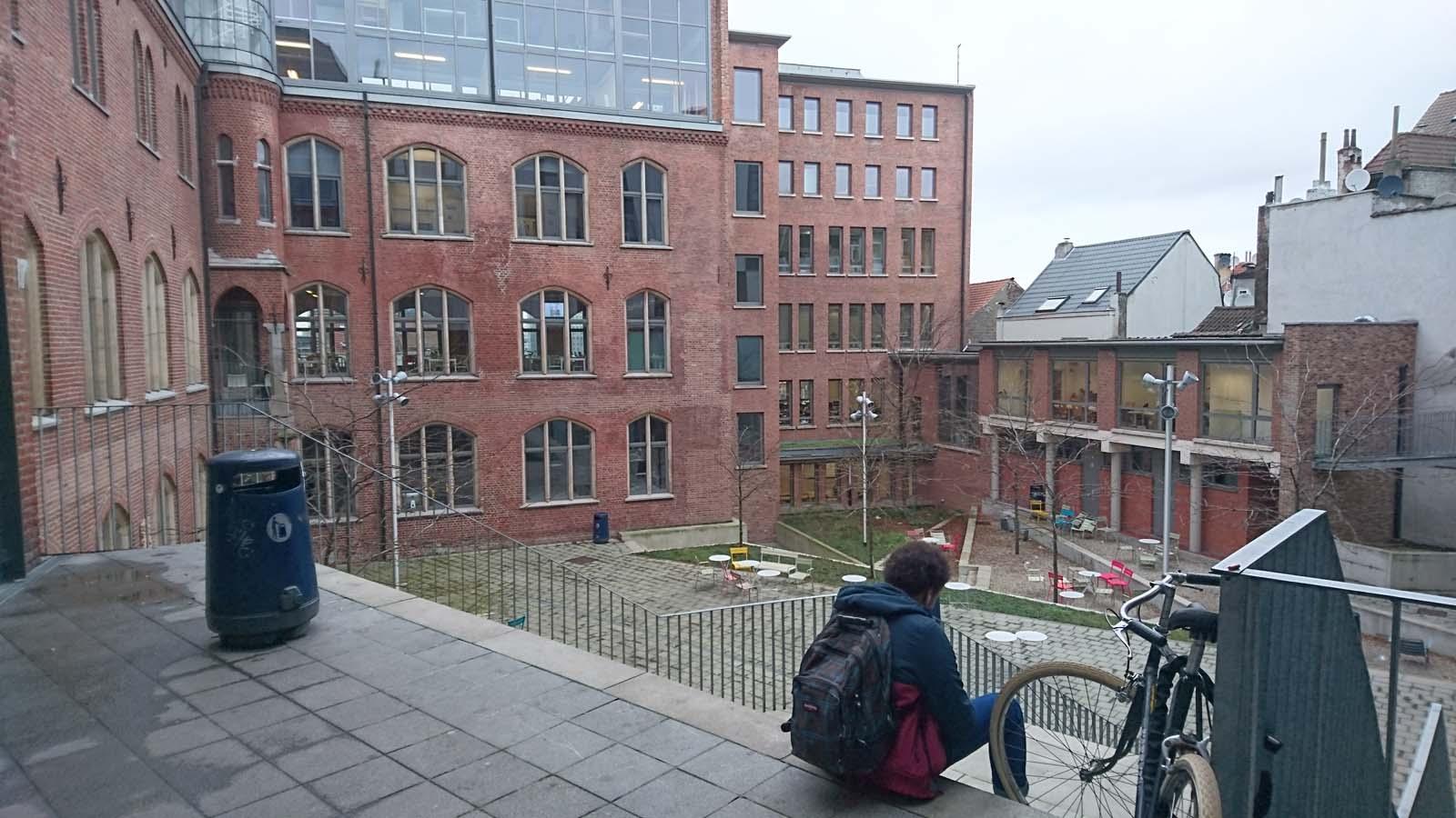 Participación de alumnado de la Esdir en la Workshop Week de Bruselas.